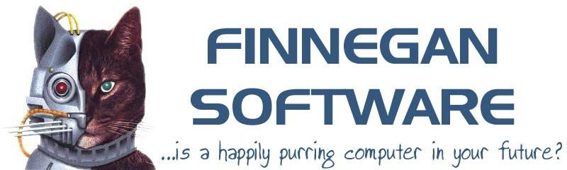 Finnegan Software - ...is a happily purring computer in your future?